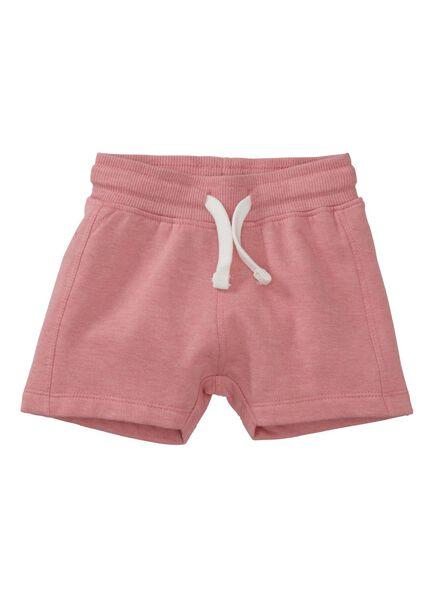 baby korte broek roze roze - 1000007994 - HEMA