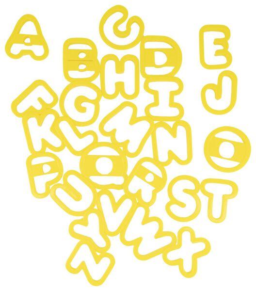 uitdrukvormpjes alfabet - 80842024 - HEMA