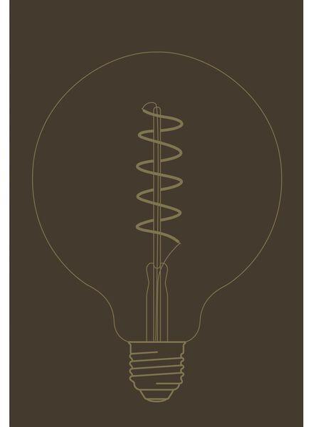 LED lamp 4W - 200 lm - globe - goud - 20020064 - HEMA