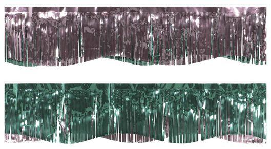 folieslinger 3.5m groen/roze - 14200413 - HEMA
