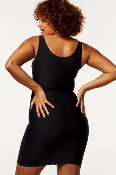 jurk second skin zwart zwart - 1000014436 - HEMA