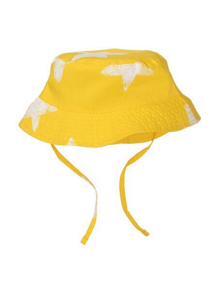 babyhoed UPF 50 geel geel - 1000012809 - HEMA