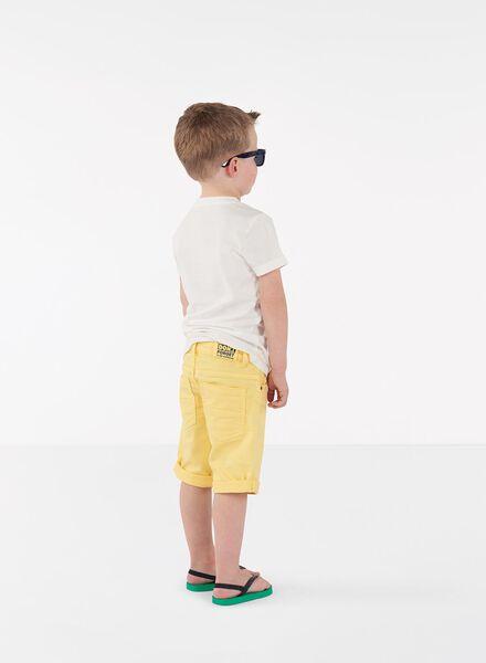 kinder t-shirt change color gebroken wit gebroken wit - 1000013284 - HEMA