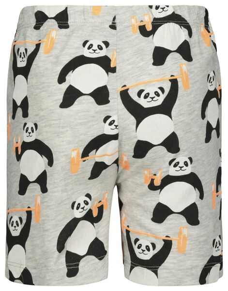 kindershortama panda gebroken wit 98/104 - 23020262 - HEMA