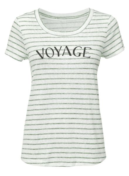 dames t-shirt donkergroen donkergroen - 1000004590 - HEMA