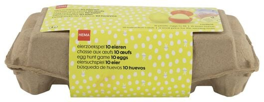 eierzoekspel met 10 eieren - 25810034 - HEMA