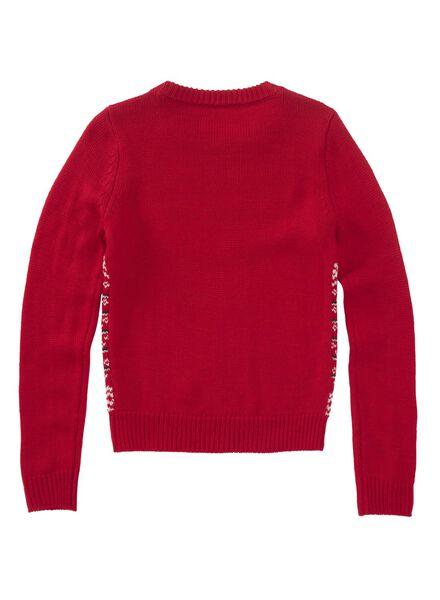 kinder kersttrui rood rood - 1000010652 - HEMA