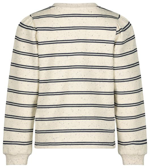kindersweater strepen gebroken wit - 1000020637 - HEMA