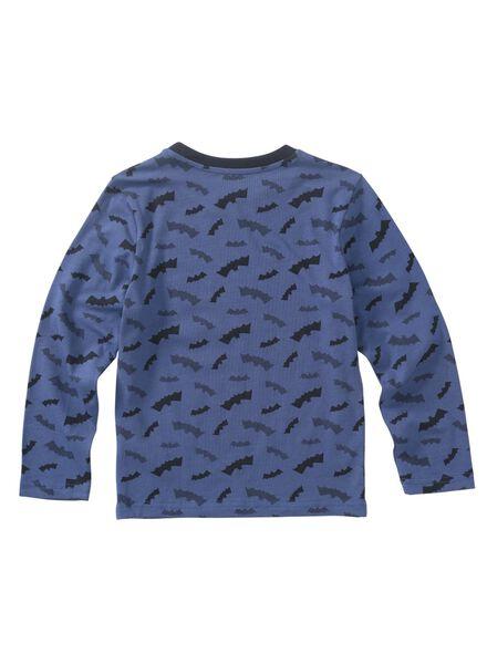 kinderpyjama blauw - 1000010851 - HEMA