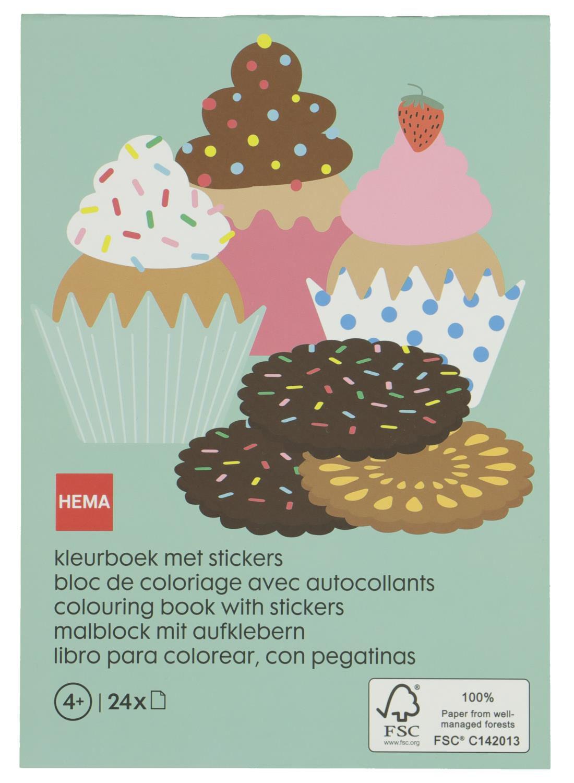 HEMA Kleurboek Met Stickers - Bakkerij