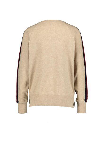 damessweater camel camel - 1000014858 - HEMA