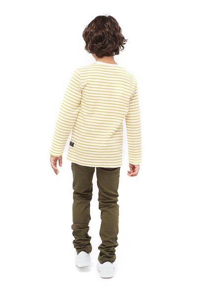 kinder t-shirt geel 158/164 - 30761656 - HEMA