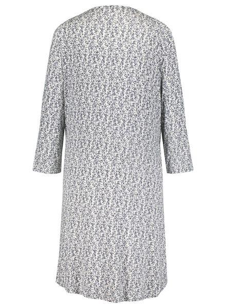 dames nachthemd lichtgrijs lichtgrijs - 1000015504 - HEMA