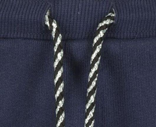 kinder sweatbroek donkerblauw 122/128 - 30863141 - HEMA