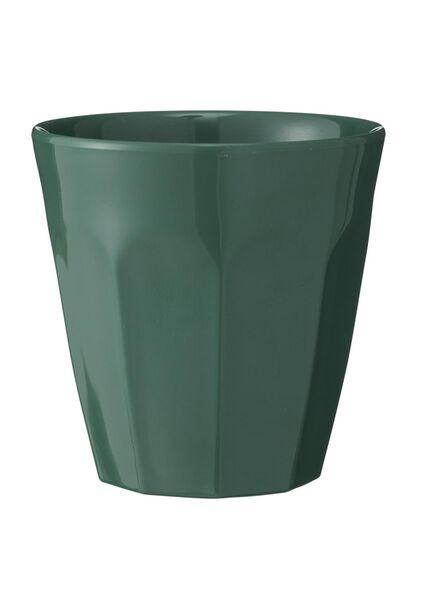 mok - 9 cm - melamine - groen - 80630525 - HEMA