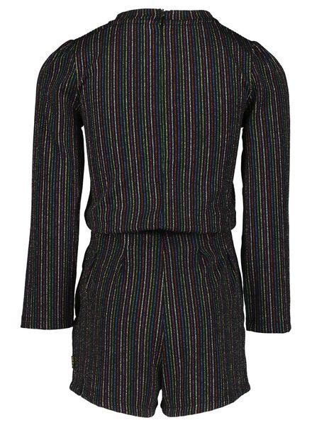 kinder jumpsuit zwart zwart - 1000017290 - HEMA