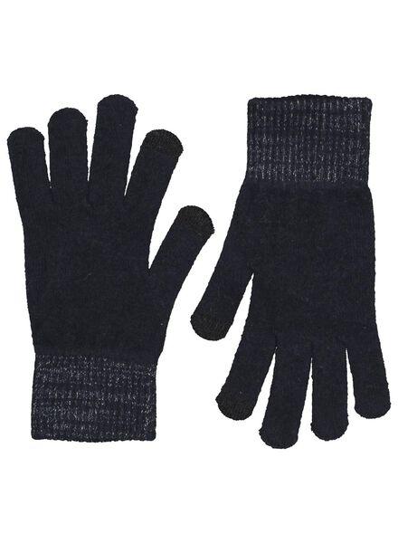 dameshandschoenen touchscreen grijs grijs - 1000015530 - HEMA