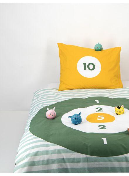kinderdekbedovertrek - 140 x 200 cm - balgooispel groen - 5740019 - HEMA