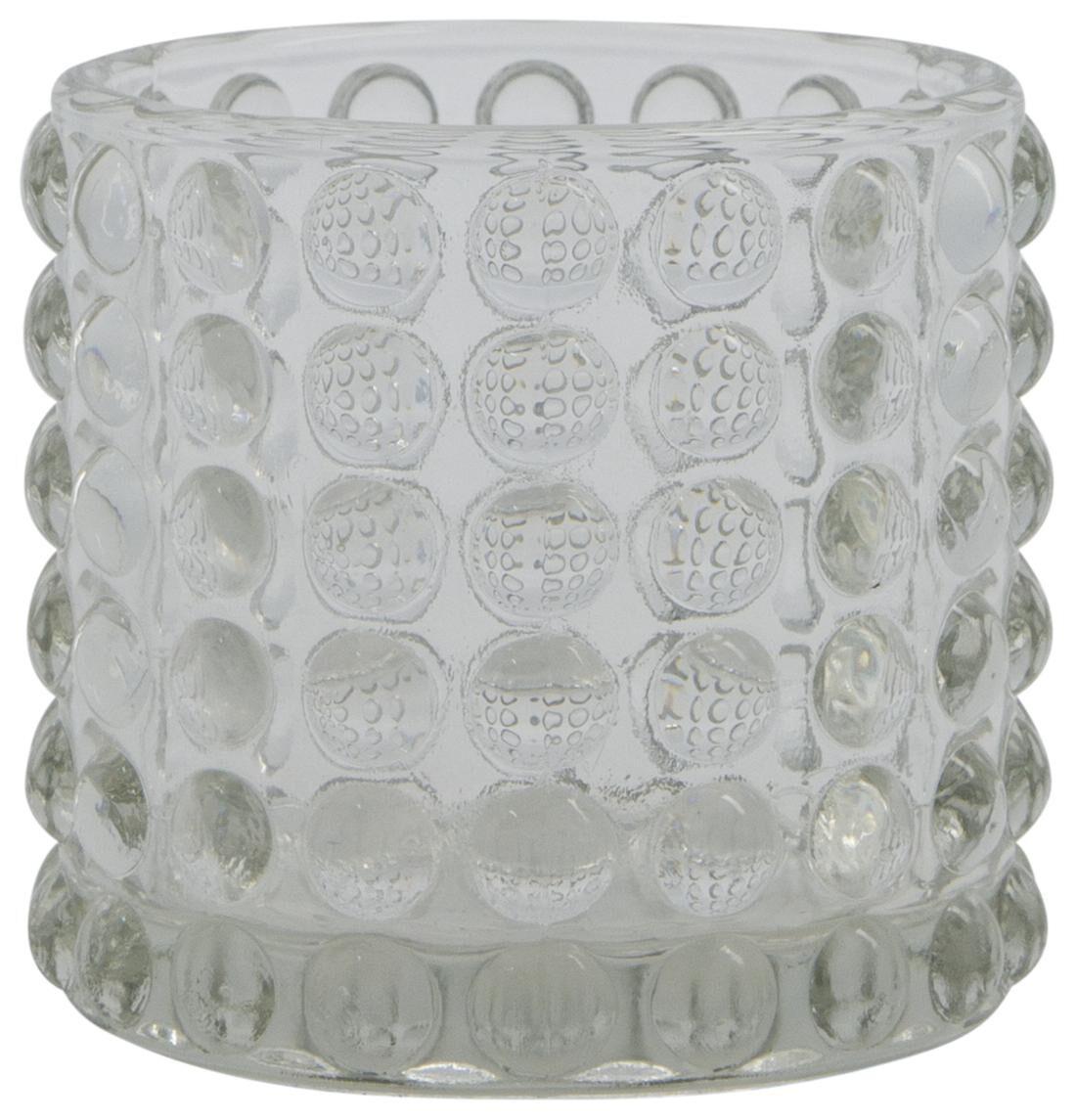 HEMA Sfeerlichthouder Ø5.5x7 Glas Transparant