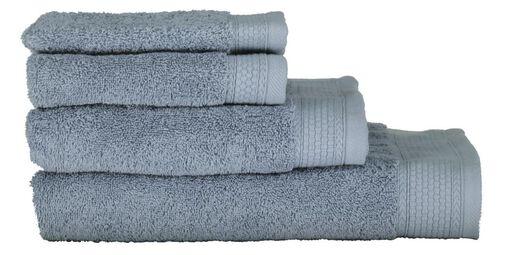 handdoeken - hotel extra zwaar ijsblauw ijsblauw - 1000015676 - HEMA