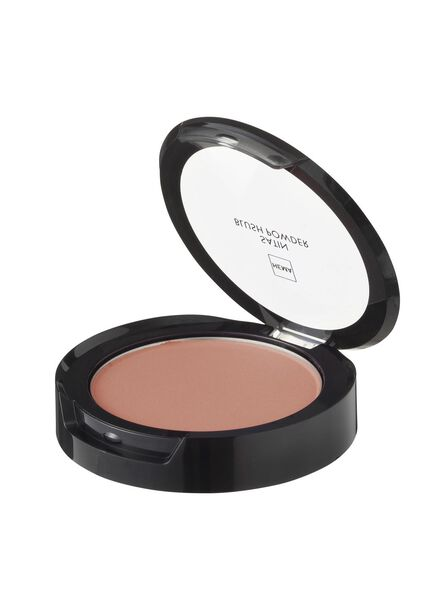 satin blush powder playful peach - 11294704 - HEMA