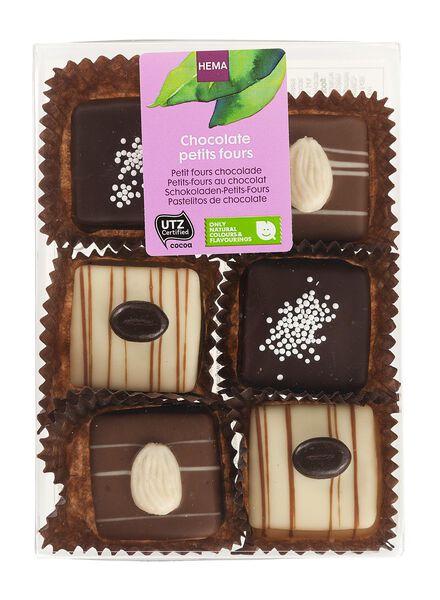 chocolade petit fours - 10330027 - HEMA