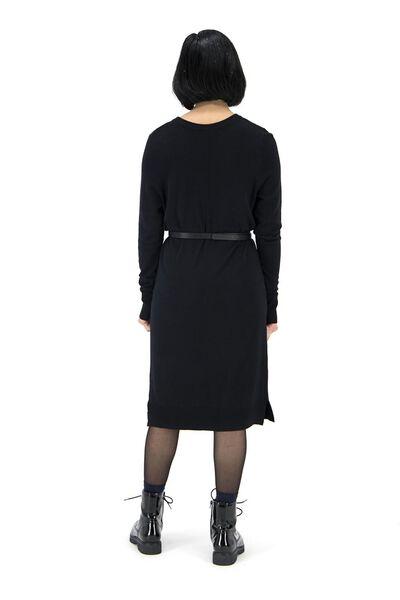 damesjurk zwart zwart - 1000017430 - HEMA