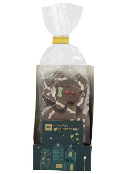 chocolade gingerbread men - 10040036 - HEMA