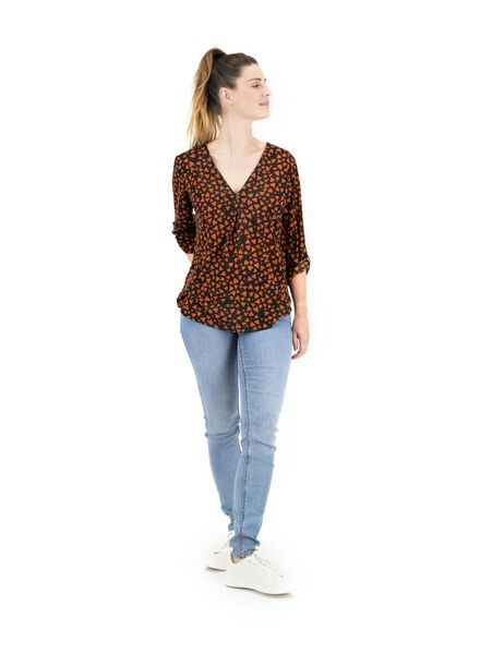 dames top bruin bruin - 1000014851 - HEMA