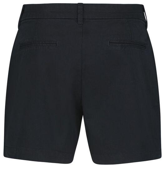 damesshort zwart XL - 36292389 - HEMA