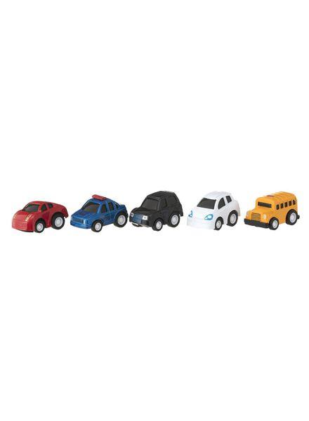5-pak metalen race auto's - 15160109 - HEMA