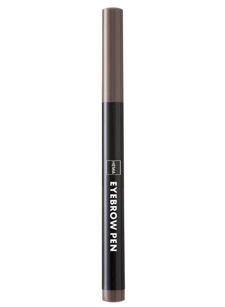 wenkbrauw pen bruin - 11214052 - HEMA