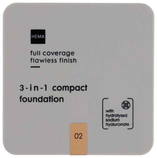 3-in-1 full coverage foundation 02 - 11290342 - HEMA