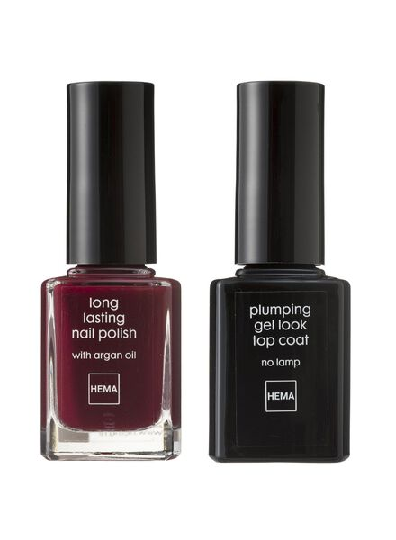 nagellak set gel look - 11240334 - HEMA