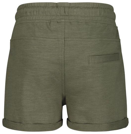 kinder sweatshort legergroen legergroen - 1000018493 - HEMA