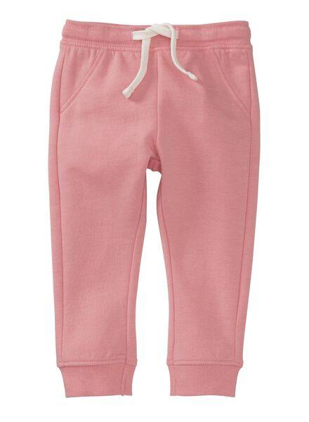 baby sweatbroek roze roze - 1000004068 - HEMA