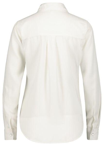 damesblouse gebroken wit gebroken wit - 1000021156 - HEMA