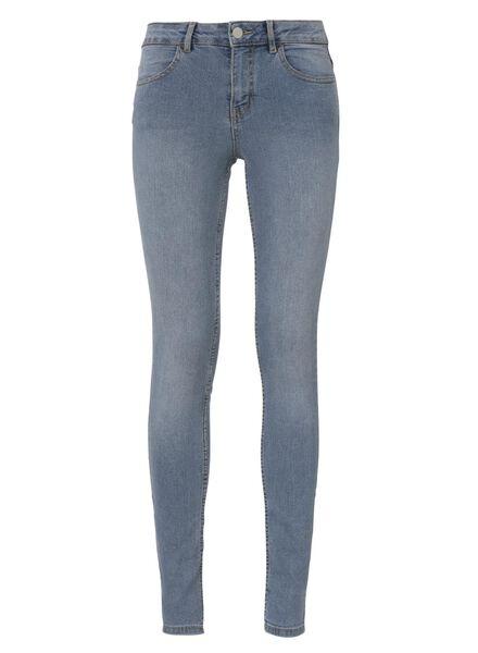 dames skinny jeans lichtblauw lichtblauw - 1000012008 - HEMA