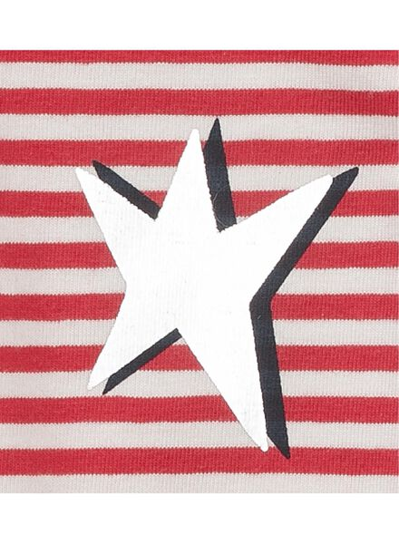 kinder t-shirt rood rood - 1000011073 - HEMA