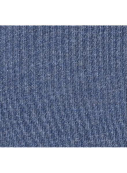damesslip second skin blauw blauw - 1000006560 - HEMA