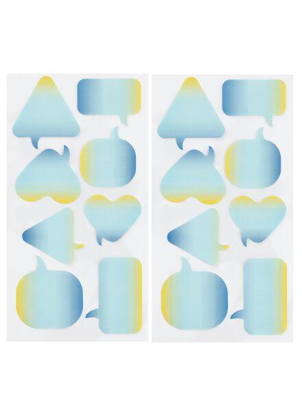 2-pak stickers - 14160067 - HEMA