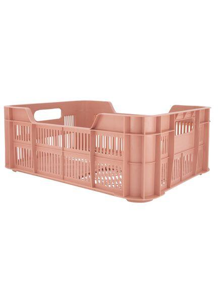 opbergkrat - 41 x 31 x 15 - gerecycled roze roze 41 x 31 x 15 - 39892916 - HEMA