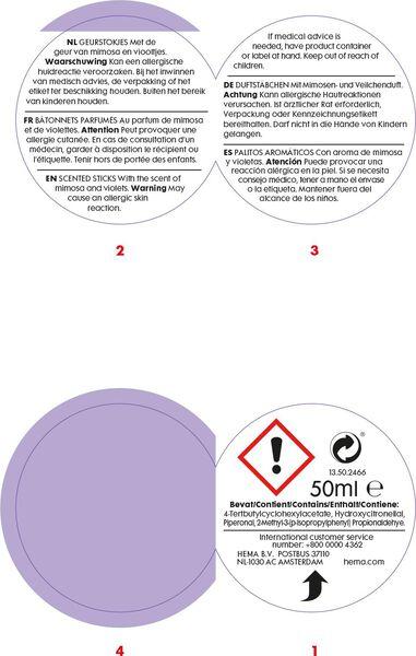 cadeaudoos geur linen - 13502466 - HEMA