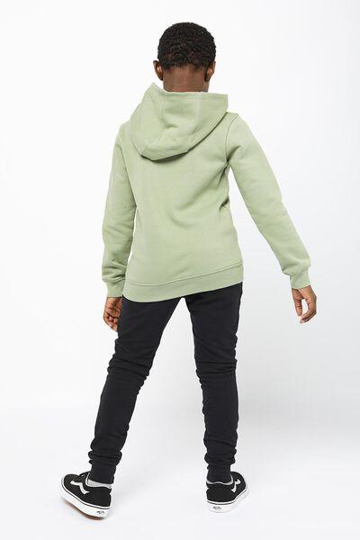 kinderhoodie groen groen - 1000022230 - HEMA