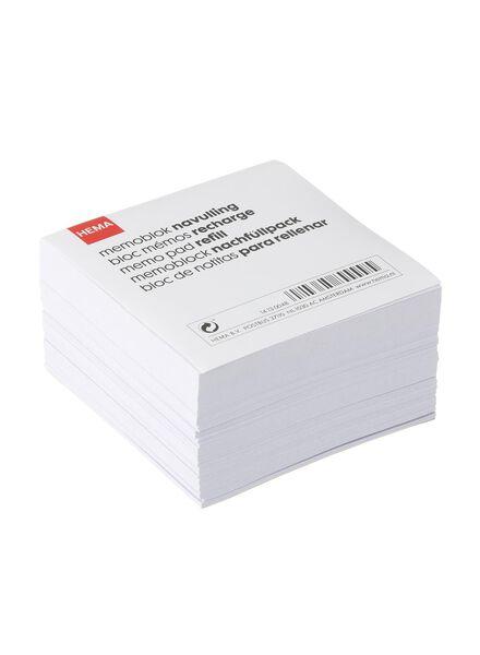 memoblok navulling - 14130048 - HEMA