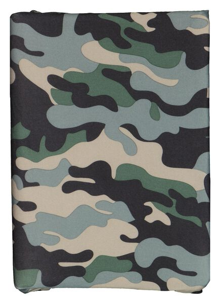 Rekbare boekenkaft camouflage