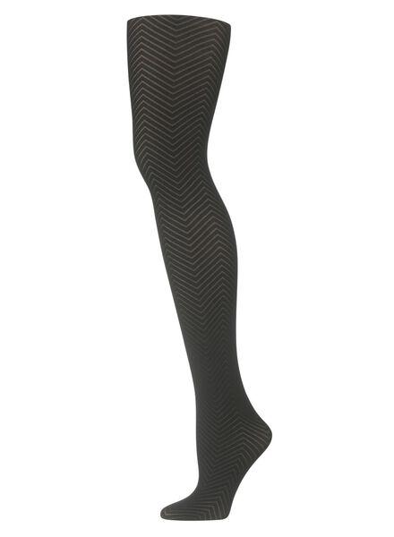 panty zwart zwart - 1000010282 - HEMA