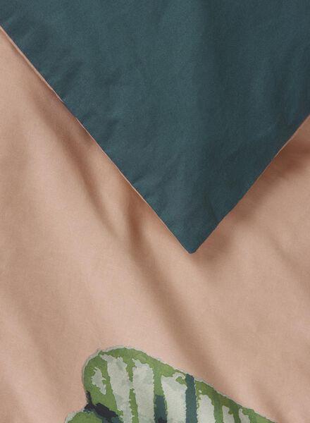 dekbedovertrek - 140 x 200 - zacht katoen - bladeren - 5710079 - HEMA
