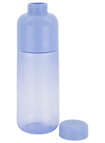 waterfles 500ml lichtblauw - 80600008 - HEMA