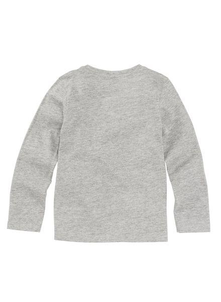 2-pak kinder t-shirts donkerblauw - 1000009139 - HEMA